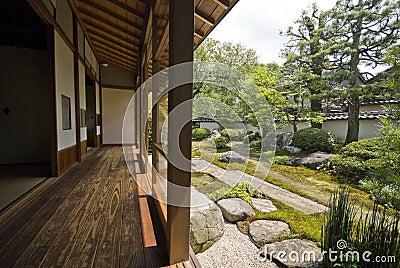 Tatami and Shoji room, Japan