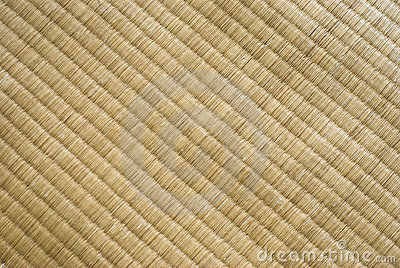 Tatami texture. Traditional Japanese culture.