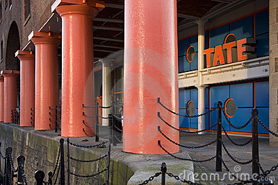 Tate Art Gallery - Liverpool - England Editorial Stock Image