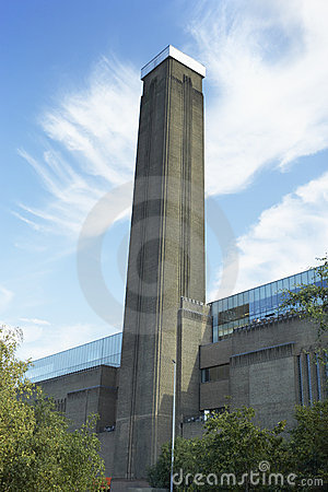 Tate Modern Art Museum, London, England