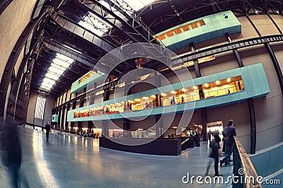 Tate Modern Museum, London Editorial Image