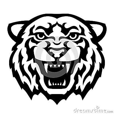 Tatouage de t te de tigre photo stock image 35529560 - Image tete de tigre ...