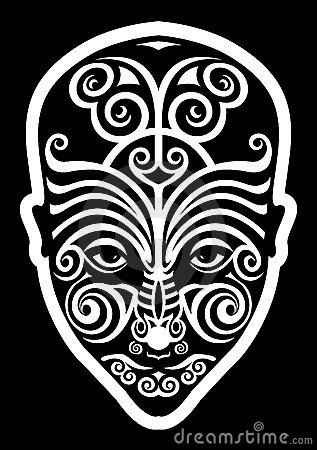 tatouage maori de visage image stock image 18479001. Black Bedroom Furniture Sets. Home Design Ideas