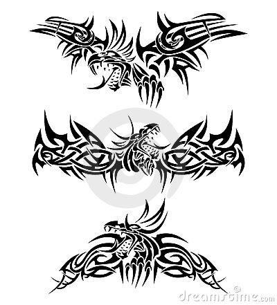 Tatoue des dragons