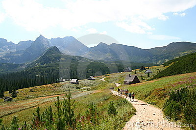 Tatra mountain treck