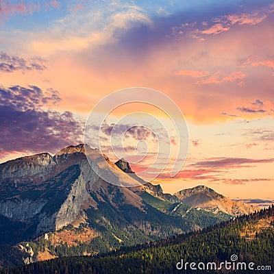 Free Tatra Mountains Royalty Free Stock Photos - 45515778