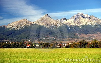 The Tatra Mountains in Summer