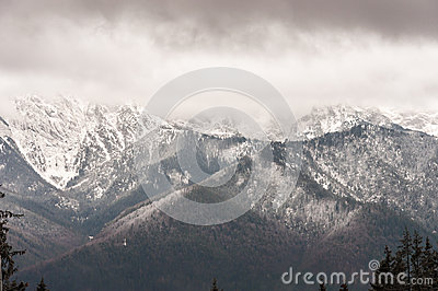 Tatra Mountains in Zakopane, Poland