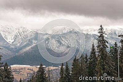 Tatra Mountains in Zakopane, Poland