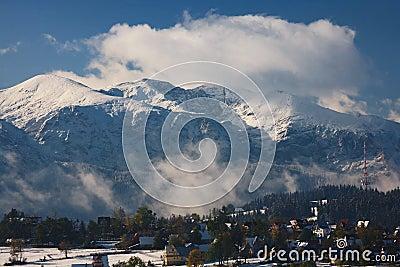 Tatras Peaks in Snow