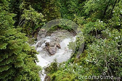 Tatra waterfall