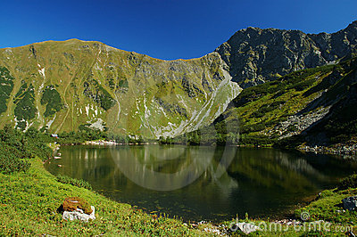 Tatry - mountain lake
