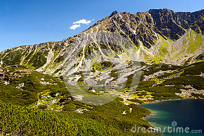 Tatry mountain view