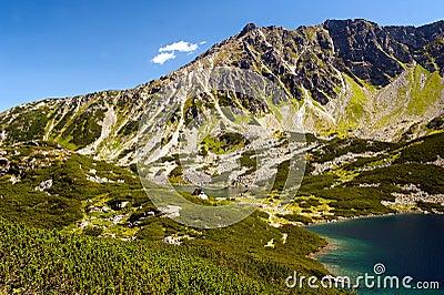 Tatry mountain view