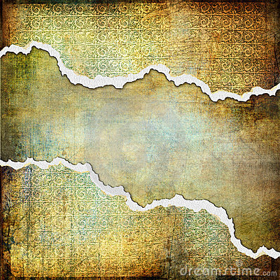 Tattered background