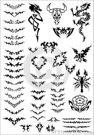 Free Tattoo Royalty Free Stock Photo - 12059645