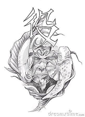 Tattoo Art  Sketch Of ...
