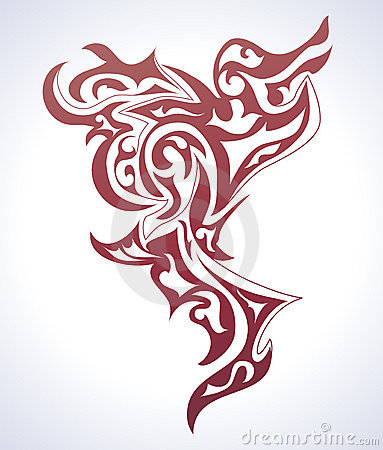 tattoo background. Royalty Free Stock Images: Tattoo background
