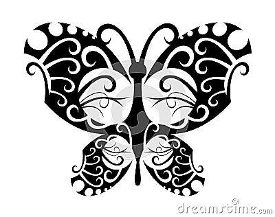 Tattoo butterfly
