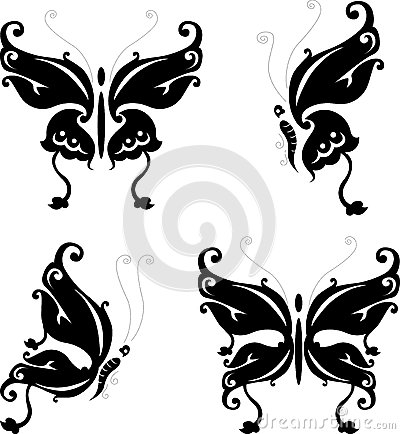 Tattoo butterfly for you design