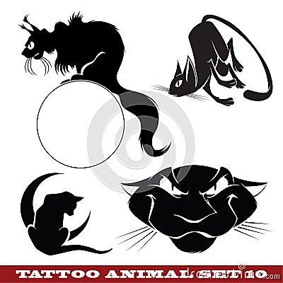 Tattoo cats
