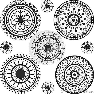 Tattoo on pinterest tattoo moon mandala tattoo and for Circular symbols tattoos