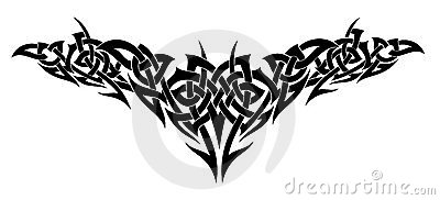 Tattoo design. Vector