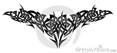 Tattoo design. Vector