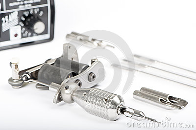 Tattoo machine (gun)