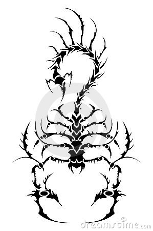 Tattoo scorpion