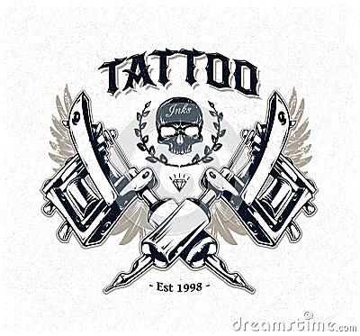 Tattoo Machine Vector Free Download