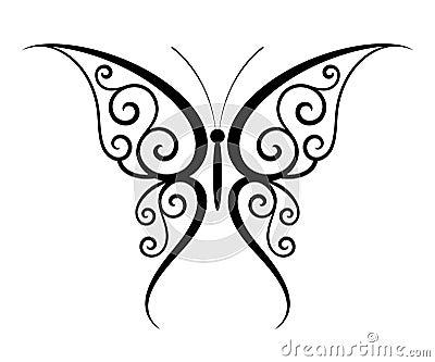 Tatuaggio della farfalla