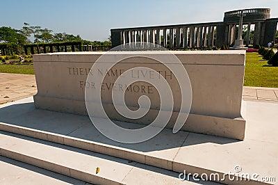 Taukkyan War Cemetery, Yangon, Myanmar