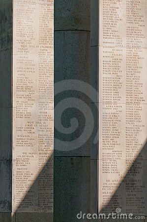 Taukkyan War Cemetery, Yangon, Myanmar Editorial Stock Image