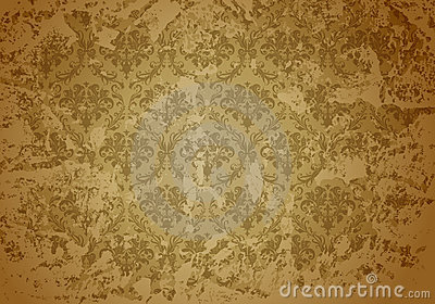 Taupe Grunge wallpaper pattern