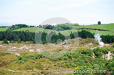 Taupo Volcanic Area, New Zealand