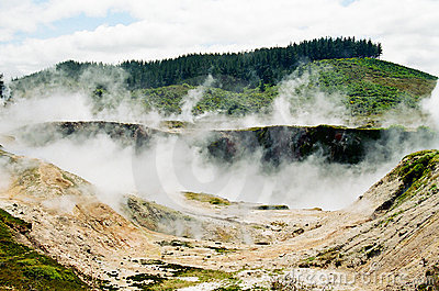 Taupo Volcanic Area, New Zealand