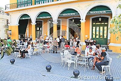 Taverna major tourist attraction in Havana Editorial Photo