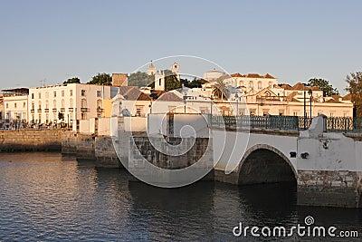 Tavira, Portugal, Algarve - old roman bridge