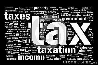 Tax background