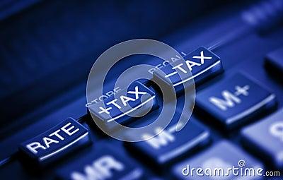 Tax buttons