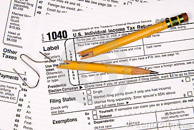 Tax forms and frustration