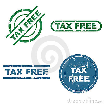 Tax free stamps