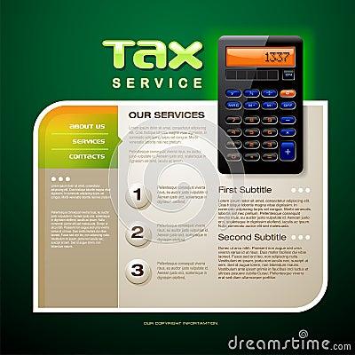 Tax Service Brochure