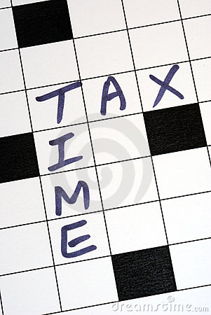 The tax time for the tax return