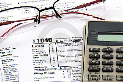 Taxes time Editorial Image