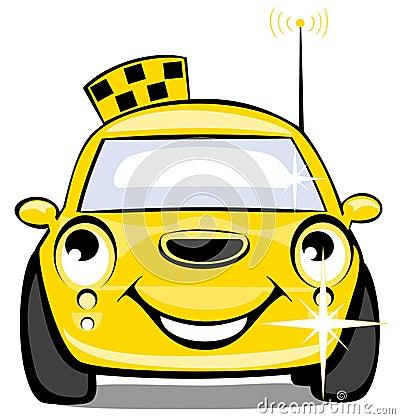 Dessin taxi anglais - Coloriage car anglais ...