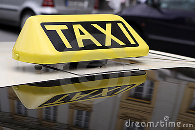 Taxi Royalty Free Stock Image - Image: 15436046