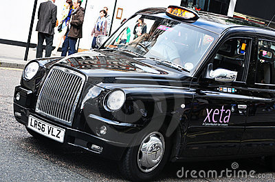 Taxi Editorial Stock Photo