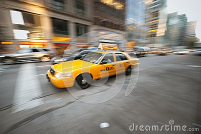 Taxi Cab Editorial Photo